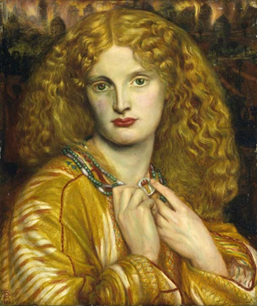 Helen of Troy by Dante Gabriel Rossetti. (CC BY-NC-SA 3.0)