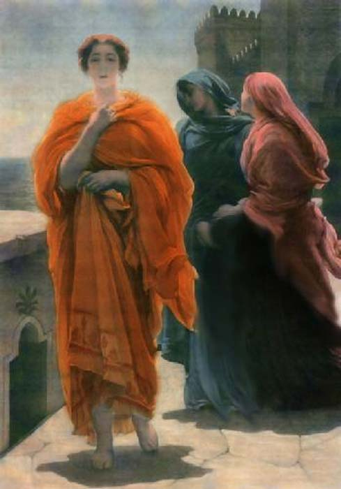 'Helen of Troy' (1865) by Frederic Leighton, 1st Baron Leighton. (Public Domain)