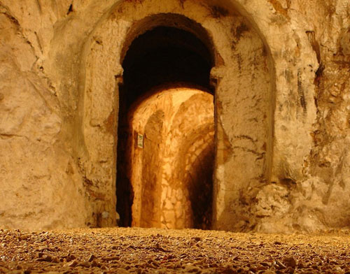 Inside the Hellfire Caves