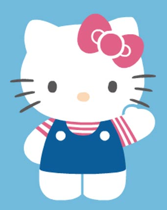 Hello Kitty is a popular character in Japanese pop culture. Like the likeable Maneki Neko, Hello Kitty gets her appearance from the Japanese bobtail cat.