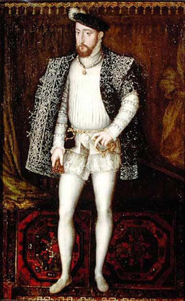Henry II of France. 16th century.