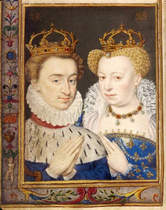 Henry of Navarre and Margaret of Valois.