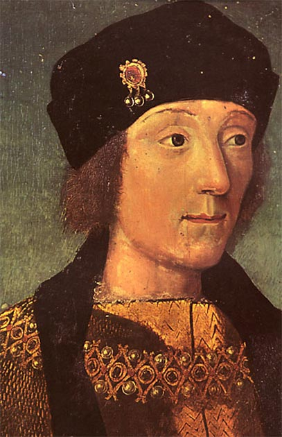 A young Henry VII (public domain)