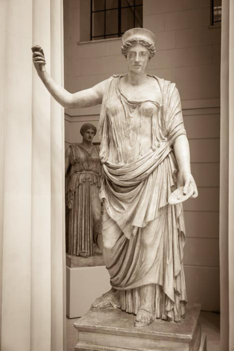Hera the ancient Greek goddess. (Ruslan Gilmanshin/Adobe Stock)