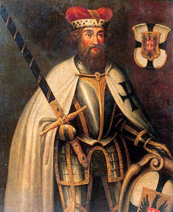 Hermann von Salza, the fourth Grandmaster of the Teutonic Order. (Public Domain)