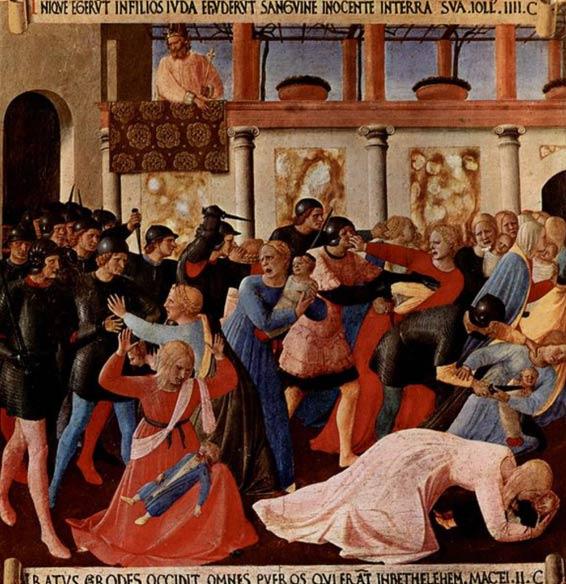 Herod's slaughter of infant boys