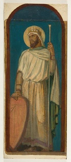 Hezekiah, King of Judah. (Hippolyte Flandrin / Public domain)