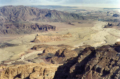 Hill of Slaves in Timna Valley