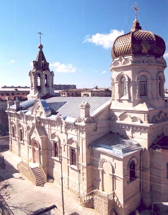 Holy Myrrhbearers Cathedral in Baku