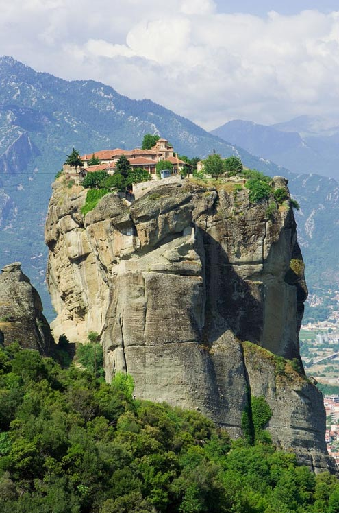 The Holy Trinity monastery, Meteora, Greece