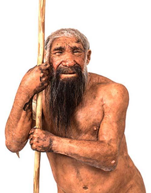 Homo neanderthalensis reconstruction. Matteo De Stefano/MUSE Science.