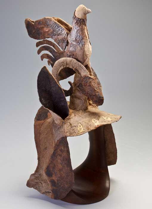 Horse headgear. Mound 1, Pazyryk, Altai. Late 4th–early 3rd century BC.