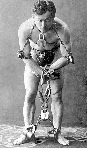 Houdini in 1899.