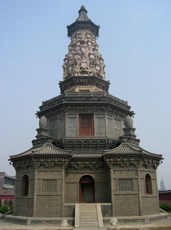 The Hua Pagoda of Guanghui Temple