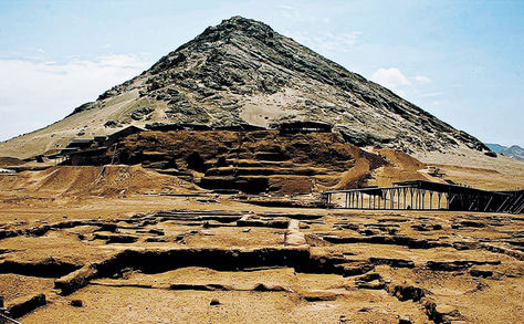 The Huaca de la Luna archaeological complex