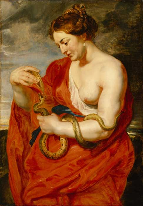 Hygeia, Goddess of Health, Peter Paul Rubens