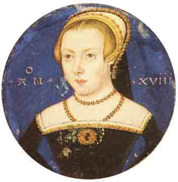 """A portrait of an """"unknown lady"""" that many have concluded was Amy Robsart, wife of Robert Dudley, the favorite of Queen Elizabeth I. (Levina Teerlinc / Public domain)"""
