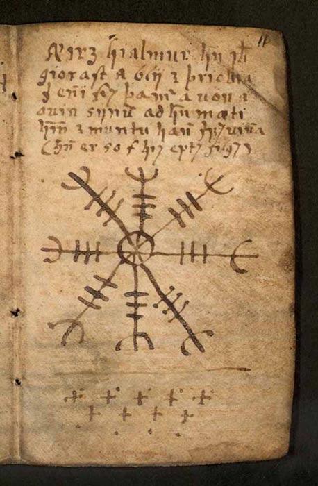 The Galdrabók is an Icelandic grimoire, circa 1600.