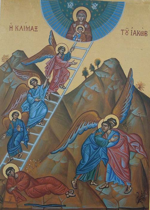 Icon – Jacob's dream and ladder.