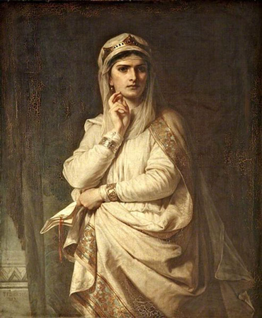'Ideal Portrait of Lady Macbeth' (1870) by Thomas Francis Dicksee.