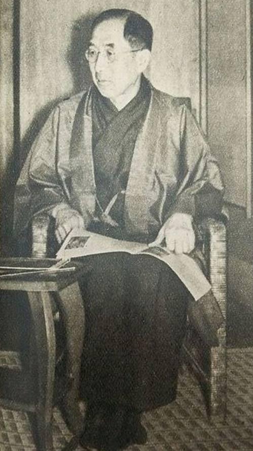 Photo of Iemasa Tokugawa.