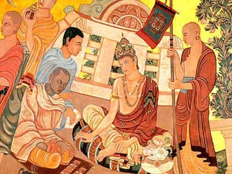 Illustraion of Chandragupta Maurya
