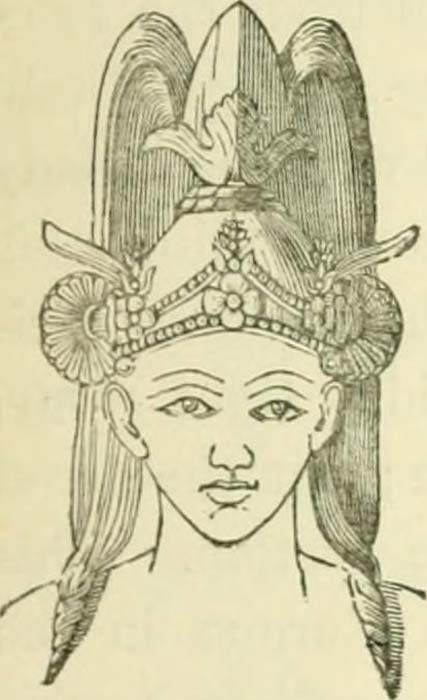 Illustration said to depict an Indo-Aryan person.