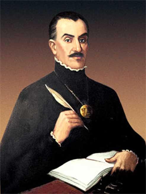 El Inca Garcilaso de la Vega, a famous Peruvian writer.