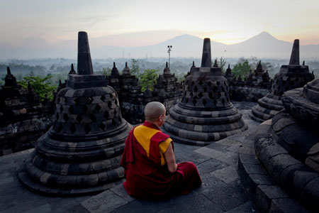 Indonesia: Borobudur
