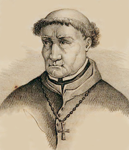 Grand Inquisitor Tomás de Torquemada.