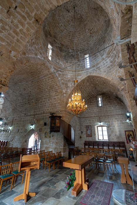 Inside Agia Kryiaki Church