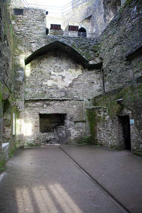 Inside the main hall of Blarney Castle. Credit: Ioannis Syrigos