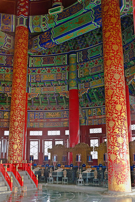 Interior of the Hall of Prayer. (CC BY-SA 3.0)