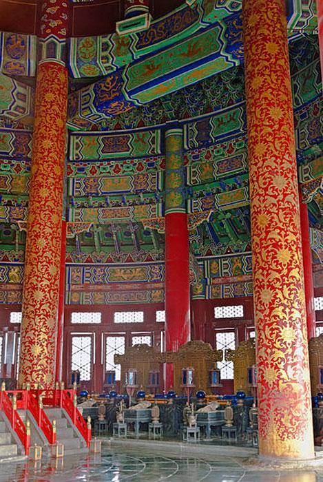 Interior of the Hall of Prayer. (CC BY-SA 3.0)