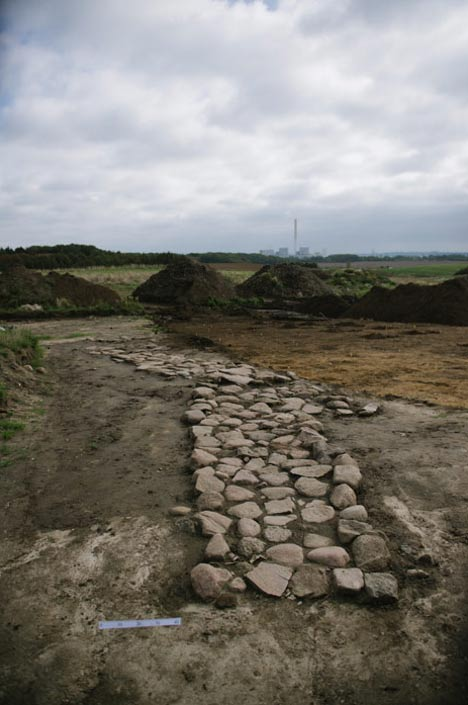 An Iron Age road.