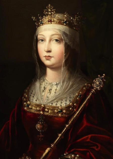 When Isabella I of Castile ascended to the throne in 1474 there already several plots against her and war broke out. (Zumalabe / Public Domain)