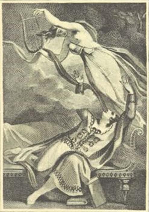 Ishtar's Midnight Courtship, from Ishtar and Izdubar, the epic of Babylon, 1884.