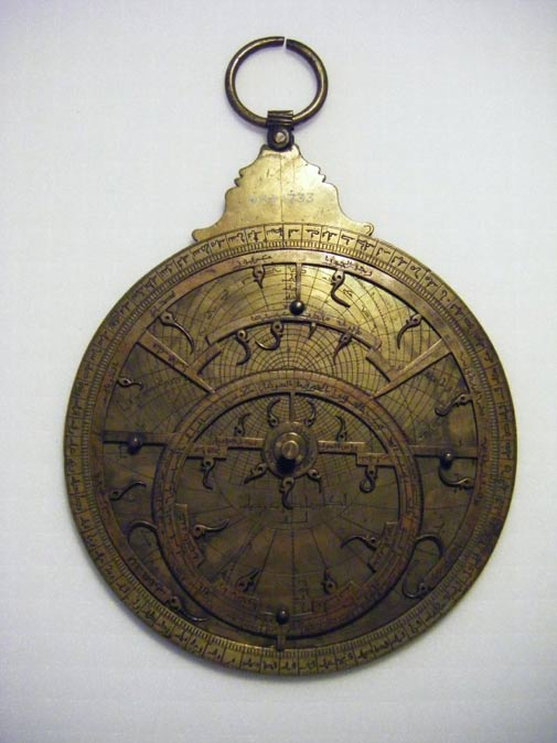 Islamic Astrolabe from the 13th Century, British Museum