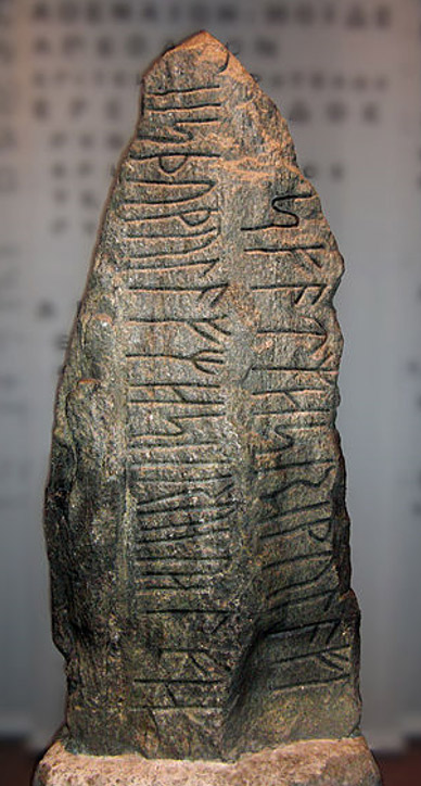 The Istaby Runestone from Blekinge.