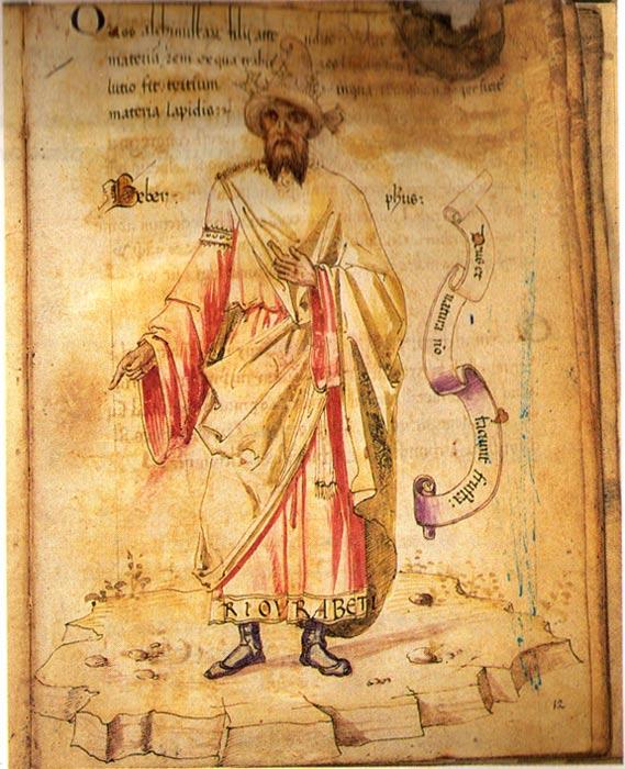 "Jabir ibn Hayyan, ""the father of Chemistry""."