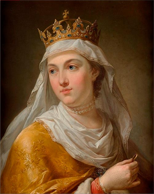 St. Jadwiga while she was queen. (Xpeye / Public Domain)