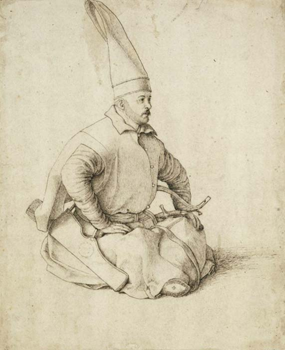 A 15th-century Janissary drawing by Gentile Bellini.