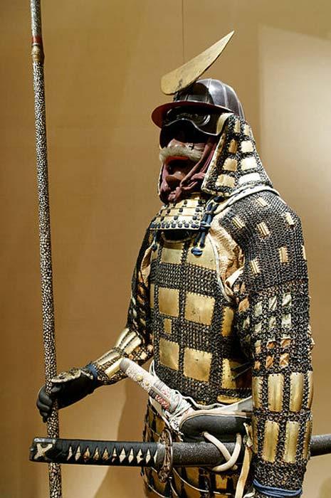 Japanese folding armor (tatami gusoku), Edo period.