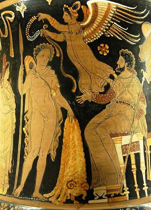 Jason, Pelias and the Golden Fleece (Public Domain)