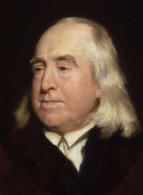 Jeremy Bentham, by Henry William Pickersgill. (Public Domain)
