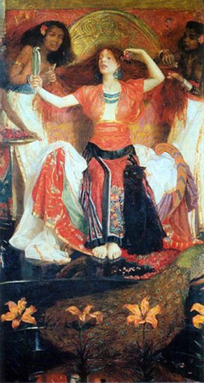 Jezebel by Byam Shaw.