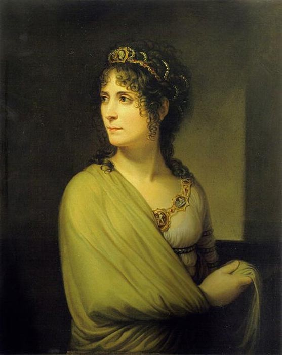Portrait of Josephine later in life by Andrea Appiani.
