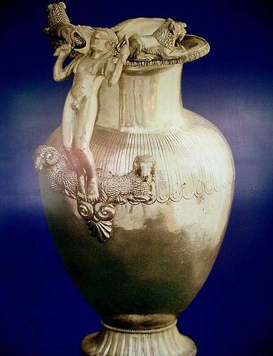 Jug from Lydian Treasure found near Uşak.