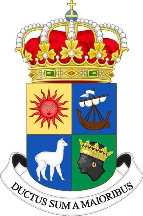 The ≈ of the Royal House of the Afro-Bolivians of Bolivia. (Di (they-them)
