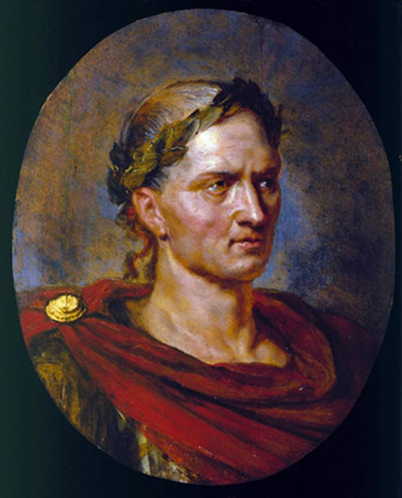 Julius Caesar by Peter Paul Rubens.